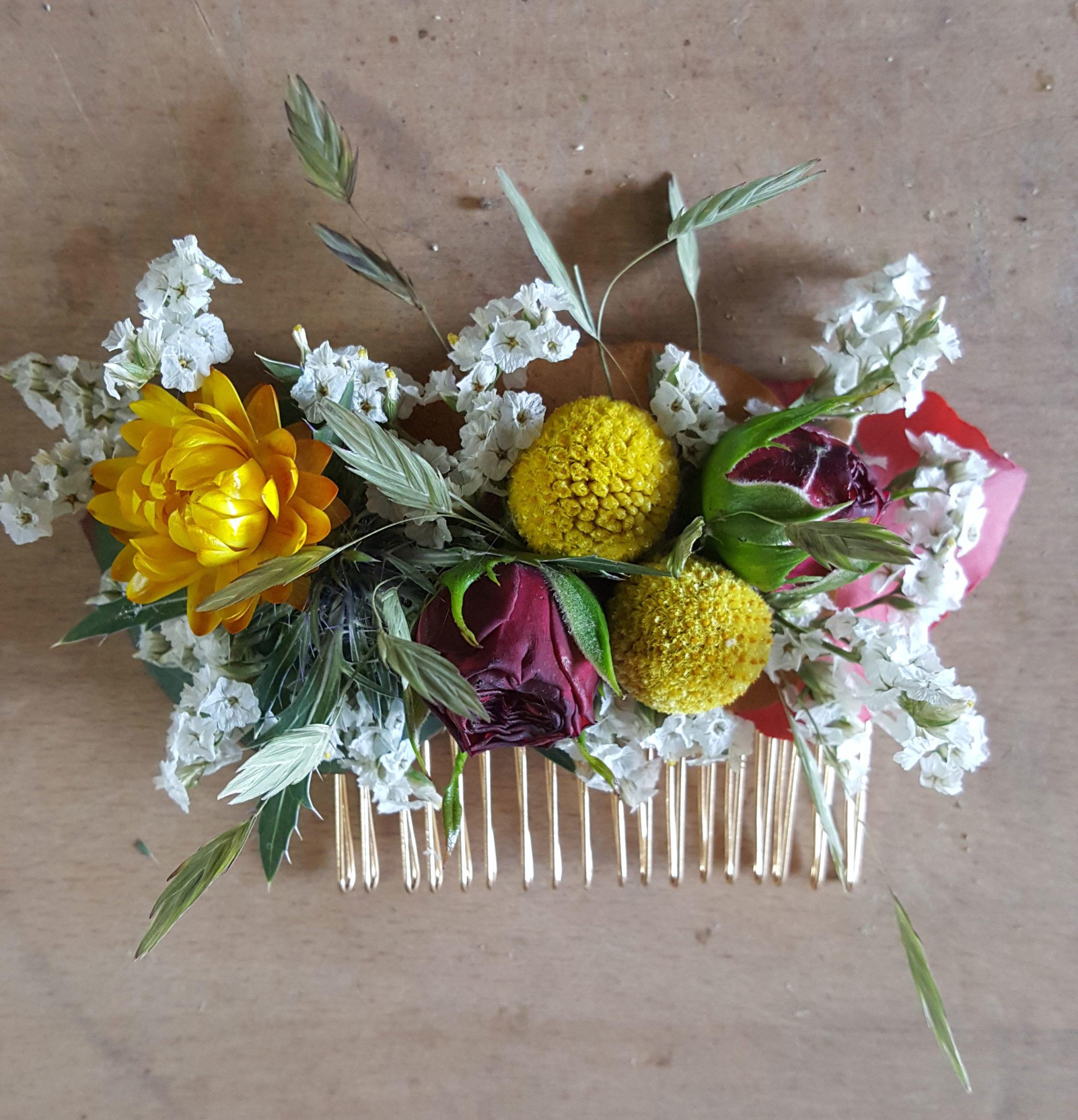 cours art floral givors fleuriste bouquet fleur mariée