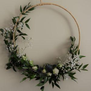 cours art floral saint chamond fleuriste fleur couronne mariage