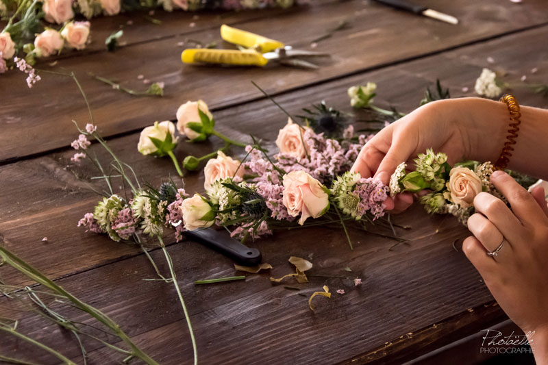 bouquet mariée mariee lyon fleurs fleuriste mariage rhone art floral atelier décoration fleur nature sauvage