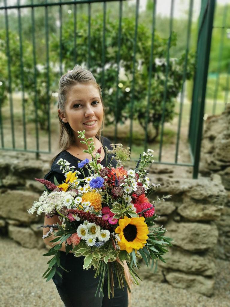atelier nature sauvage bouquet mariage lyon marié fleur fleuriste atelier décoration rhone art floral